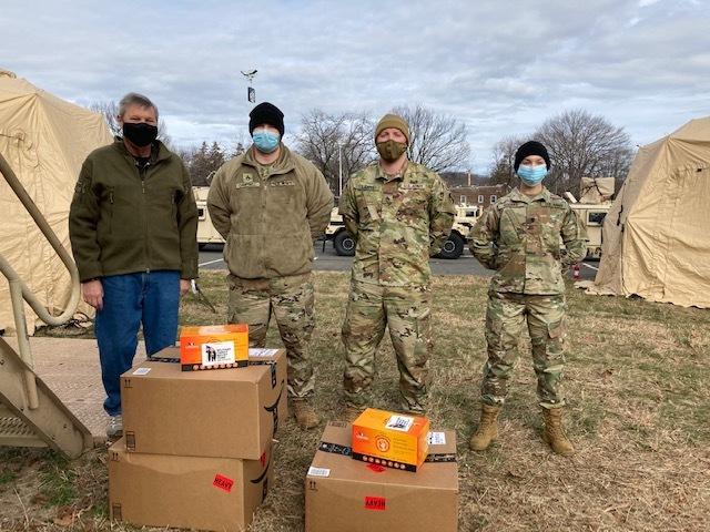 National Guard donation
