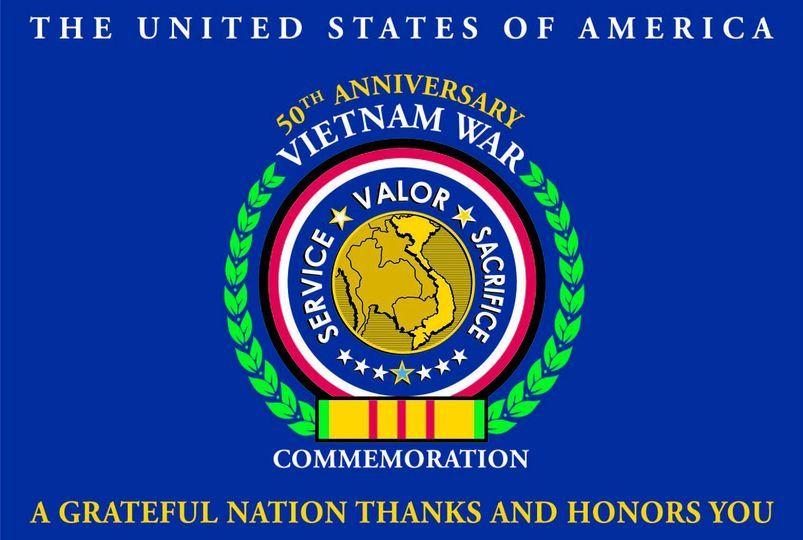 Vietnam War Commemoration Logo