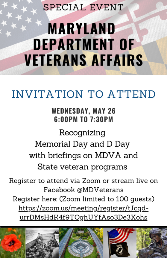 MDVA Memorial Day Event