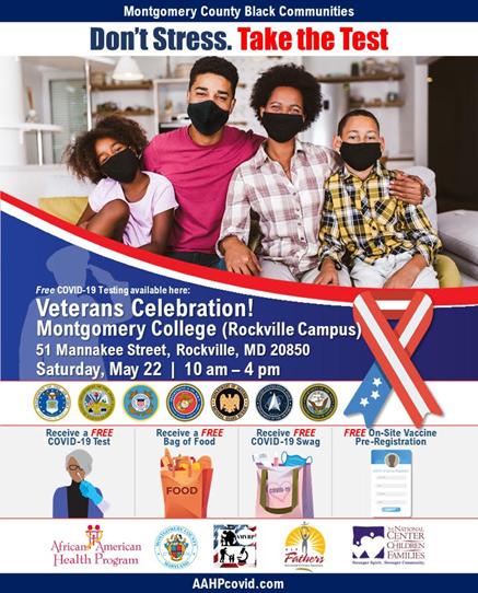 Montgomery College Veterans Celebration Flier