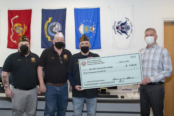 VFW Post 194 Donation Photo