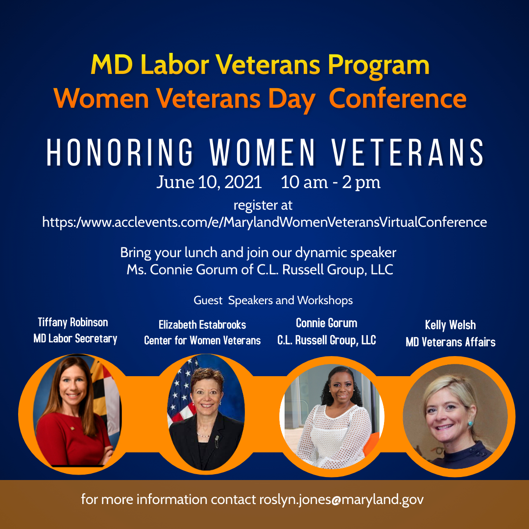 Women Veterans day conference