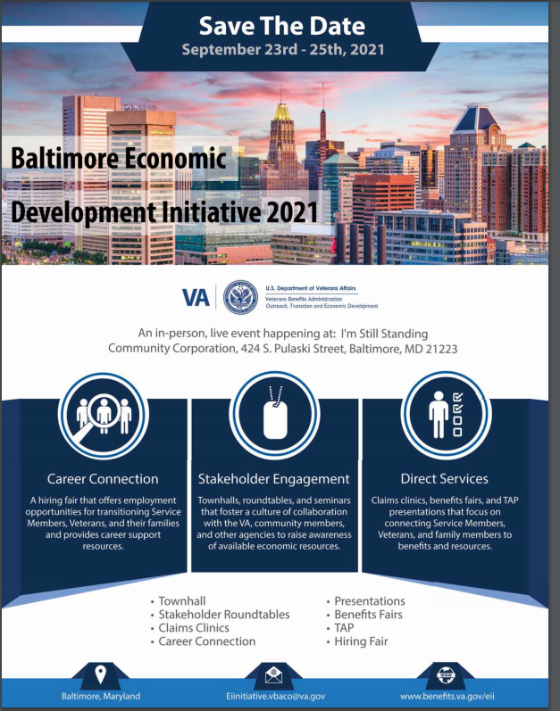 Baltimore EDI event flier