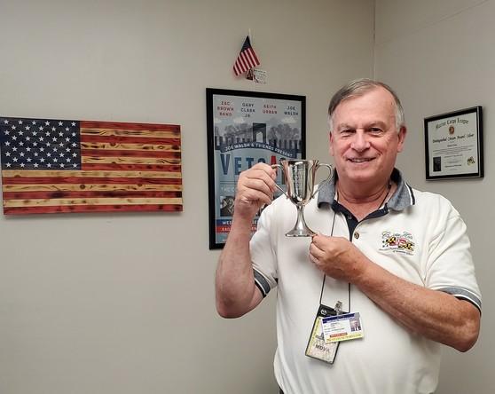 Robert Finn with Trophy photo