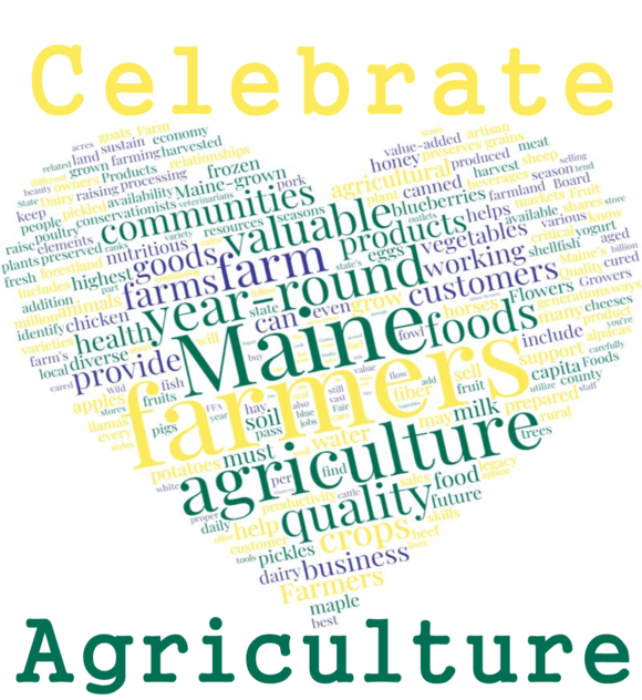 Celebrate Maine Agriculture_March is Ag Month_2018