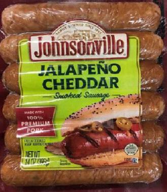 JALAPEÑO CHEDDAR Smoked Sausage
