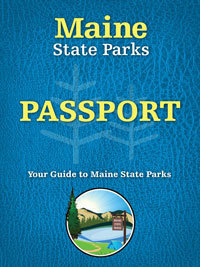 Maine State Park Passport booklet cover