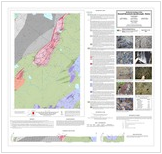 Geologic Map Of Maine.Round Mountain Bedrock Geologic Map Released