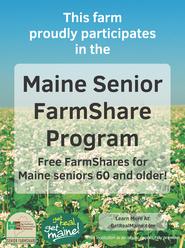Senior FarmShare Poster