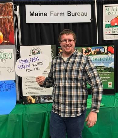 Maine Farm Bureau at Ag Trades Show