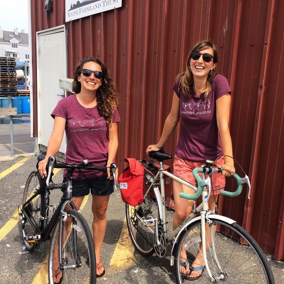 Tour Sagadahoc Count Farms by Bike on Maine Open Farm Day