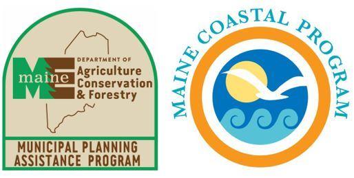 Municipal Planning Assistance Program Logo and Maine Coastal Program Logo