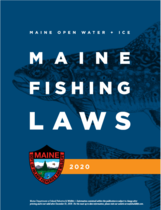 Maine Fishing Lawbook 2020