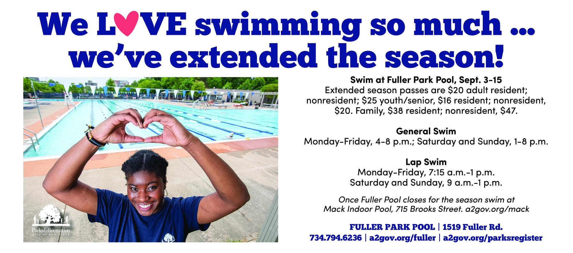 extended swim