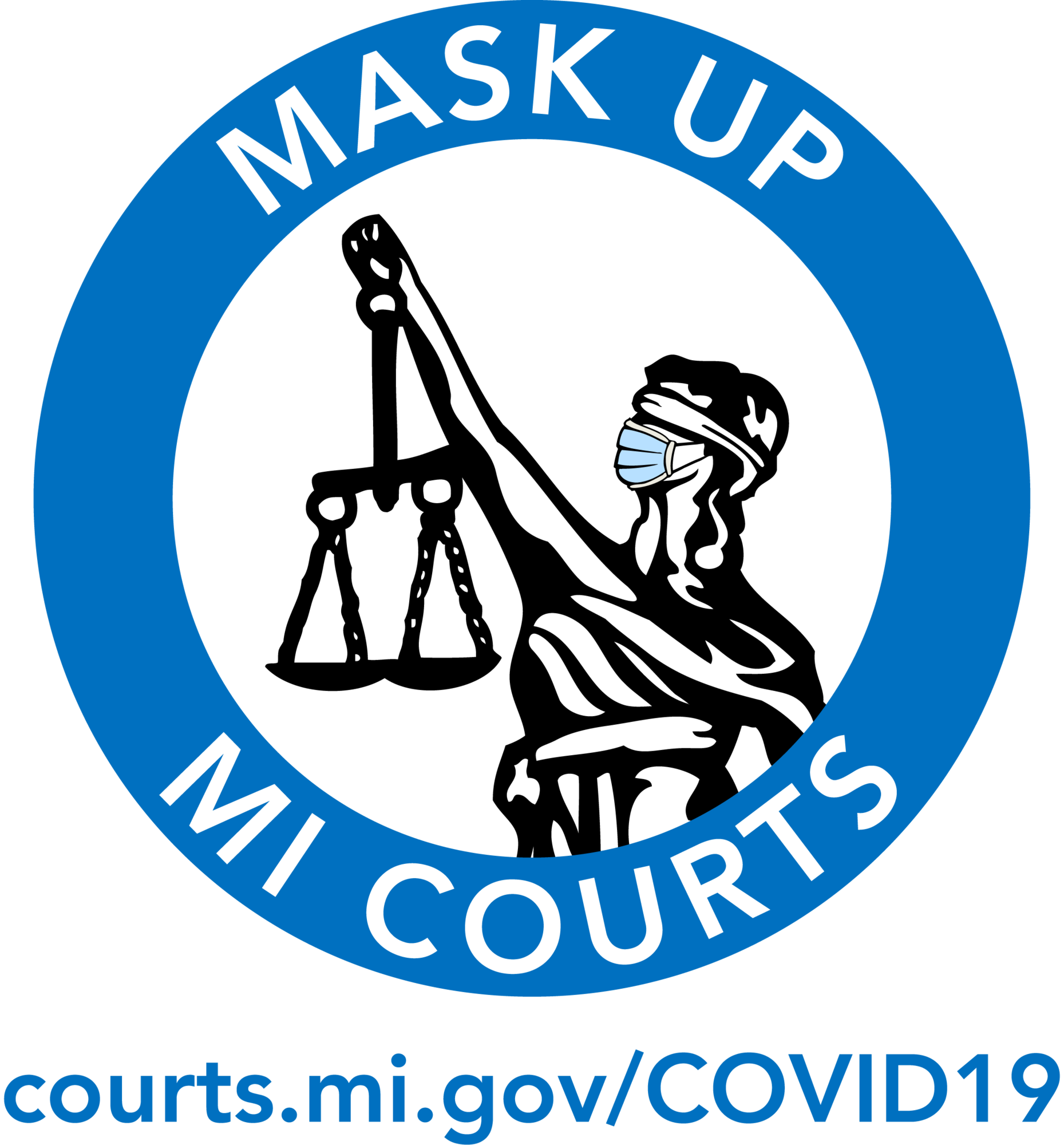 Mask Up MI Courts