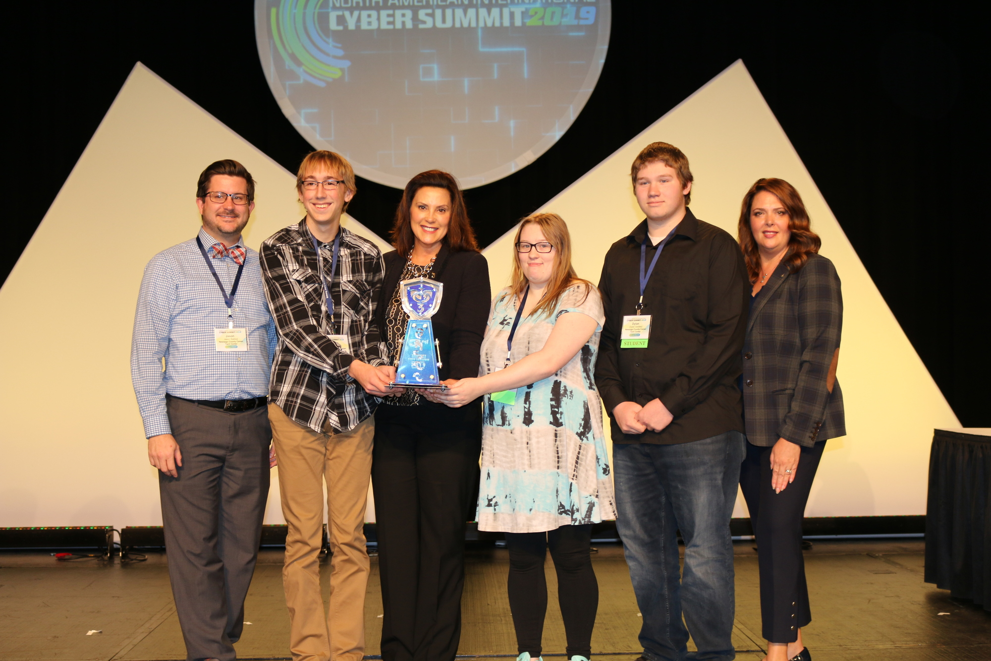 Gov. HS Cyber Challenge 3rd place