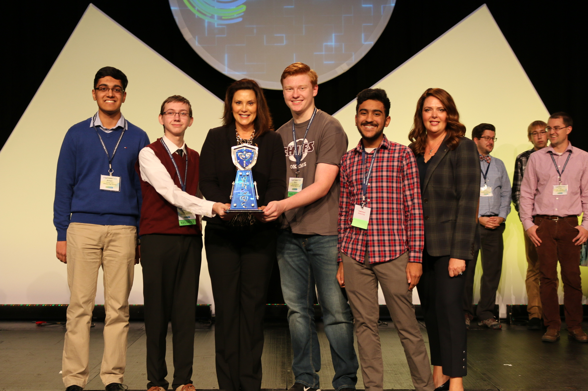 Gov. HS Cyber Challenge 1st place