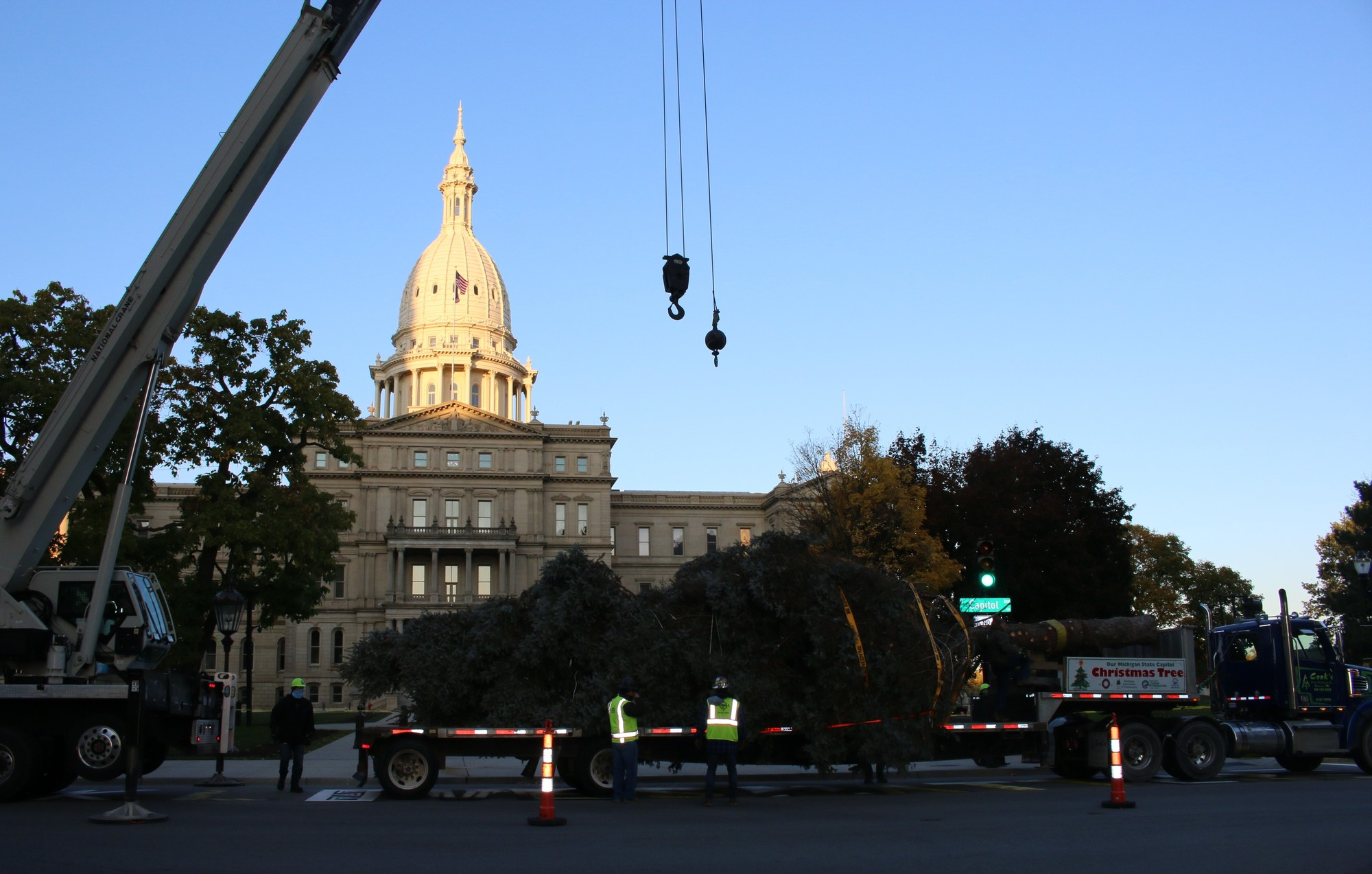 2020 Christmas Tree Delivery 1