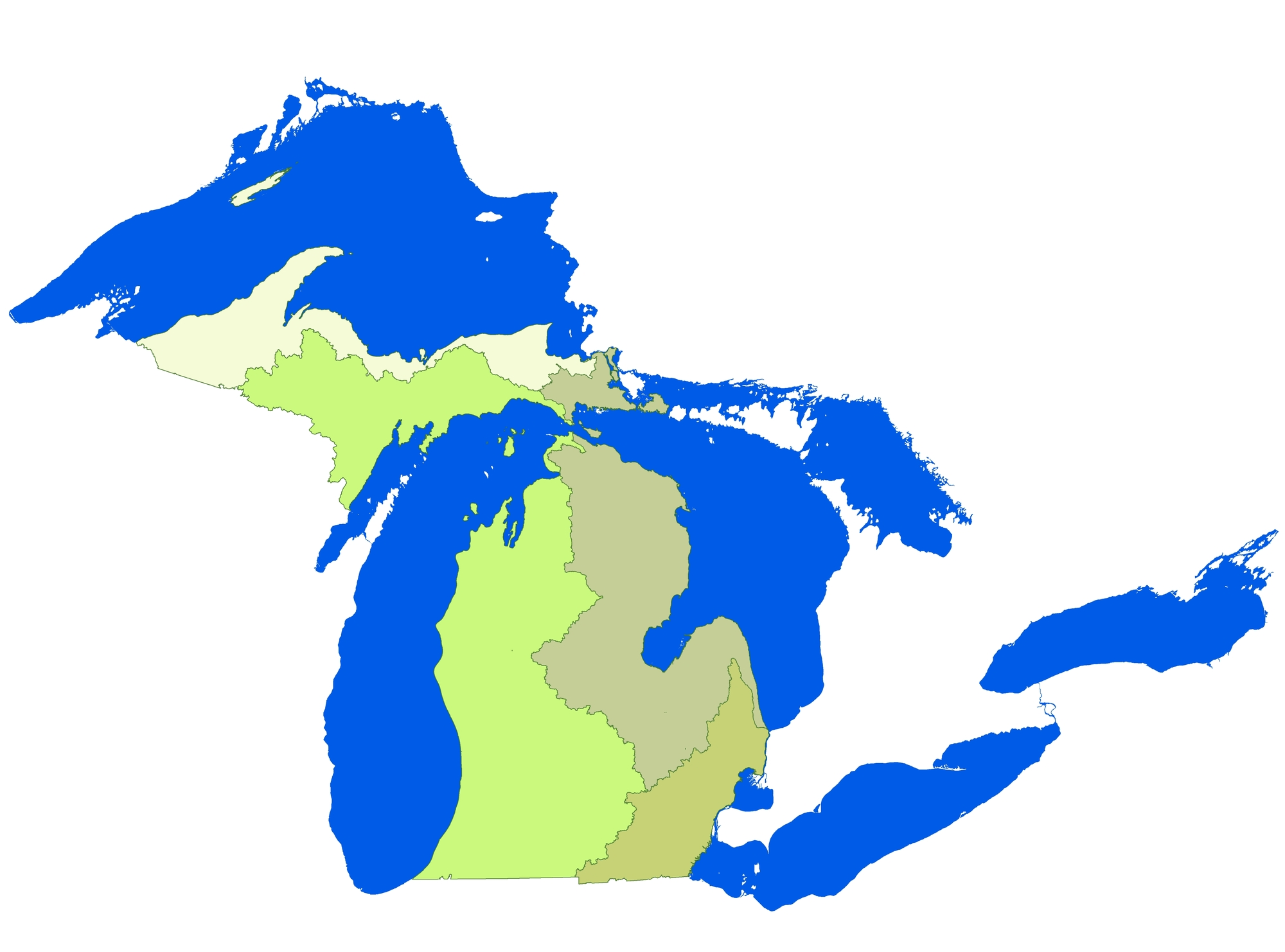 Michigan's Great Lakes Basins