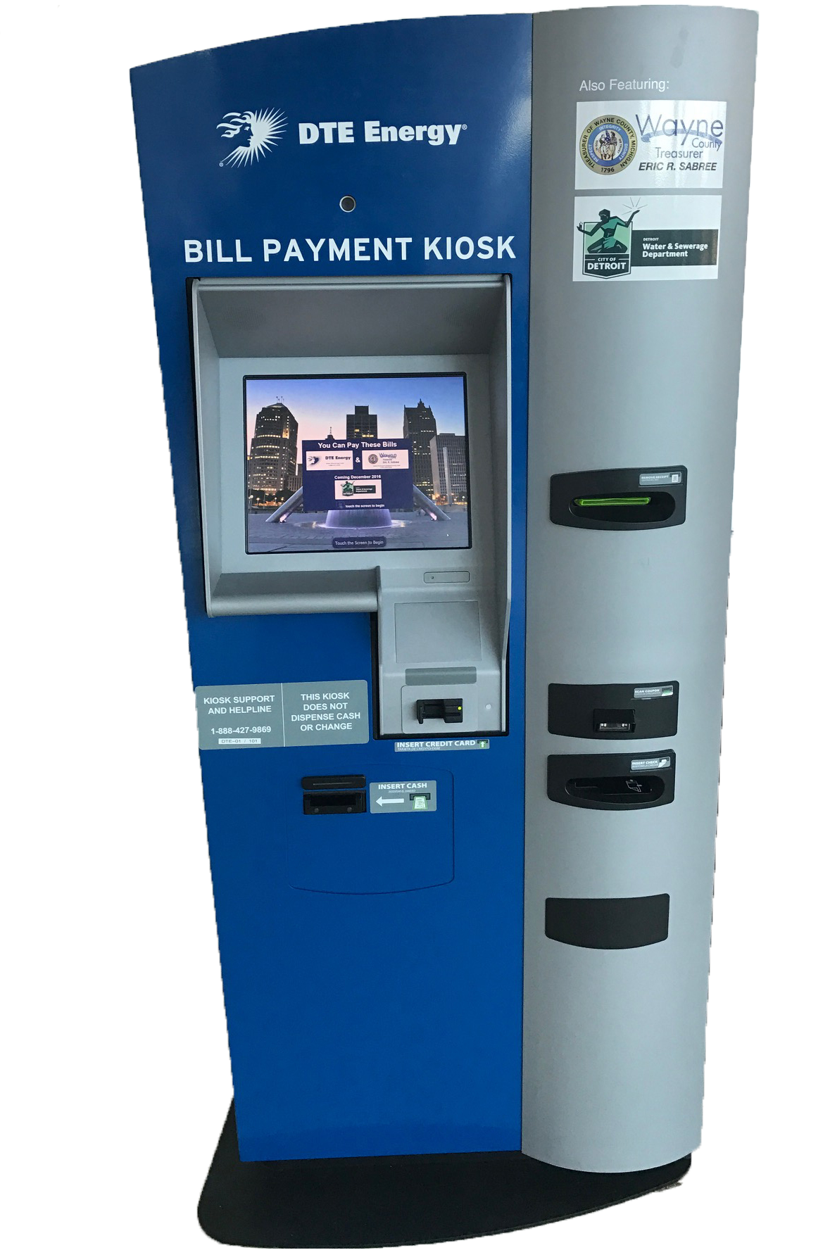 Conveniently Pay Your Detroit Water Bill at 28 Kiosk