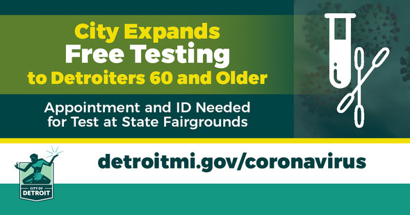 COVID - Testing for Residents 60 & Older