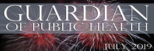 Fireworks - July Guardian Banner