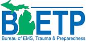 Bureau of EMS, Trauma and Preparedness (BETP) logo