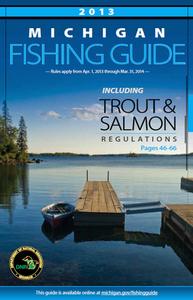 2013 Michigan Fishing Guide cover