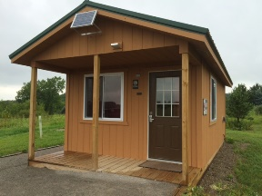 New rustic cabin available for rent at Sleepy Hollow State Park