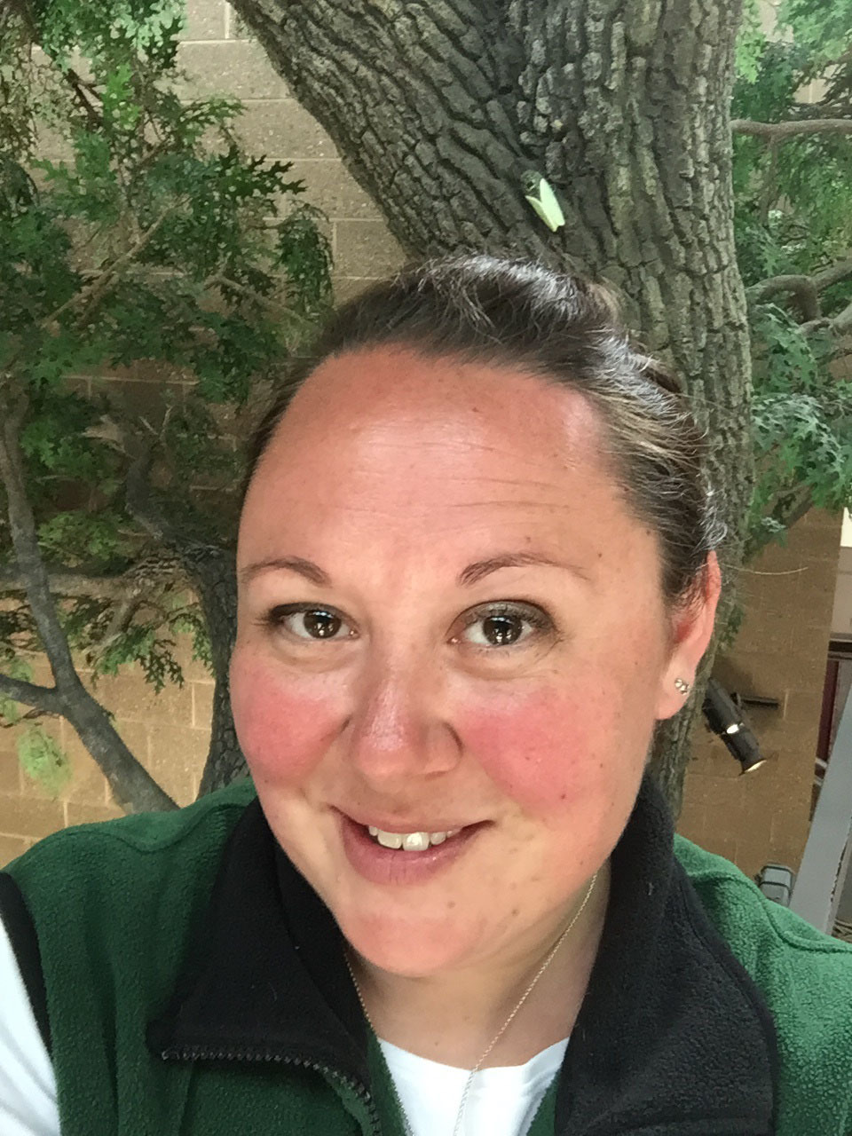 Holly Vaughn Joswick, a Michigan Department of Natural Resources wildlife outreach technician.