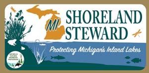 Signage for Michigan Shoreland Stewards Program