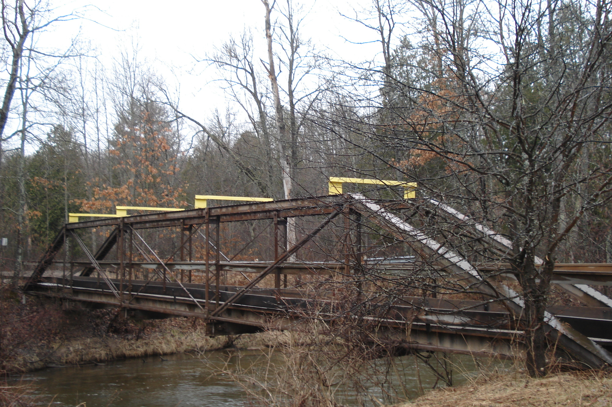 Design was recently completed for replacing the dual use off-road vehicle/snowmobile Lincoln Bridge in Lake County.
