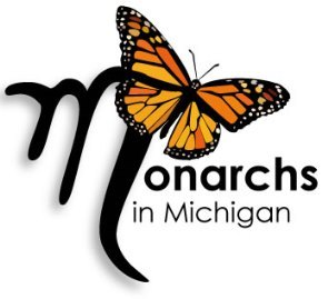 Monarchs in Michigan logo