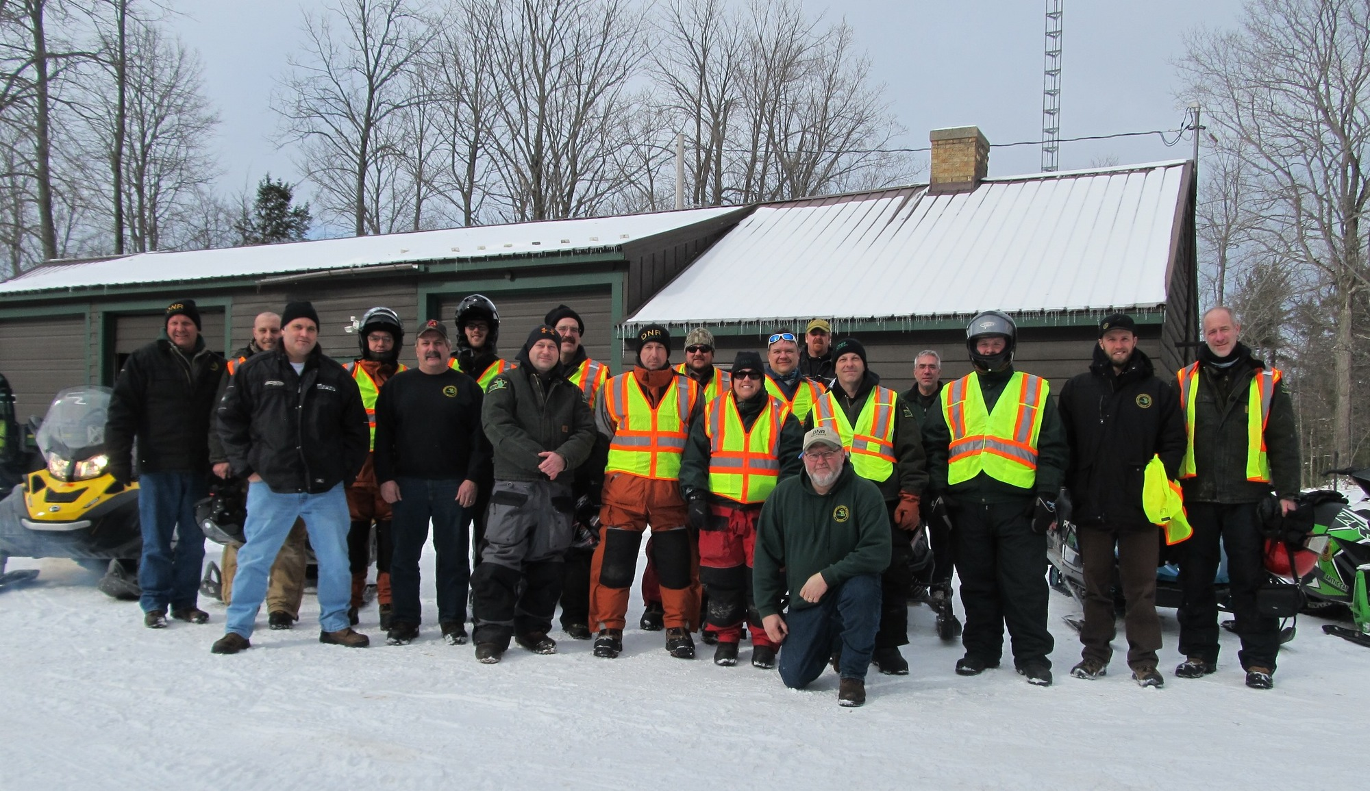 The 2017 DNR Black Lake sturgeon crew.