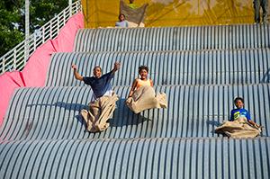 Belle Isle Park slide