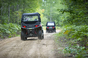 ORV riding trail