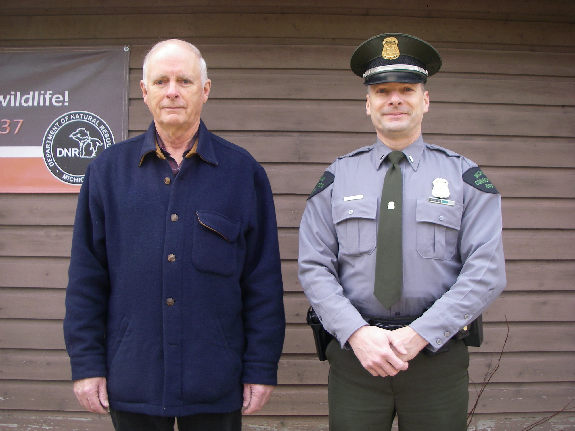 From left, Frank and Terry Short are shown in a recent photo.