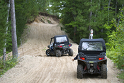 ORV on trail