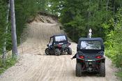 ORV on trail