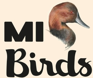 MI Birds with illustration of a duck's head