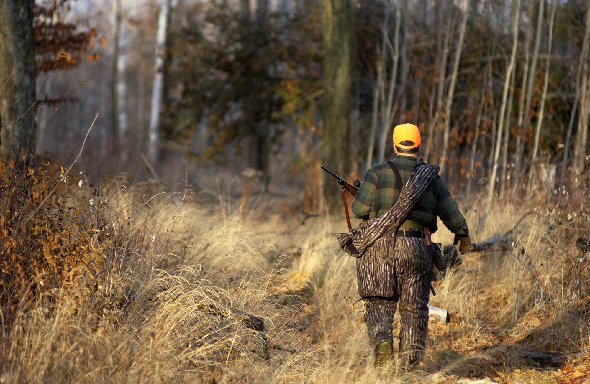 A Michigan hunter takes to the field. Hunters and others in Michigan will continue to play a vital role in battling bovine tuberculosis.