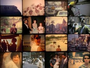 collage of still frames from the film 12th and Clairmount