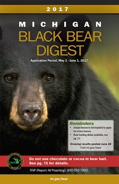 2017 Michigan Bear Hunting Digest cover image