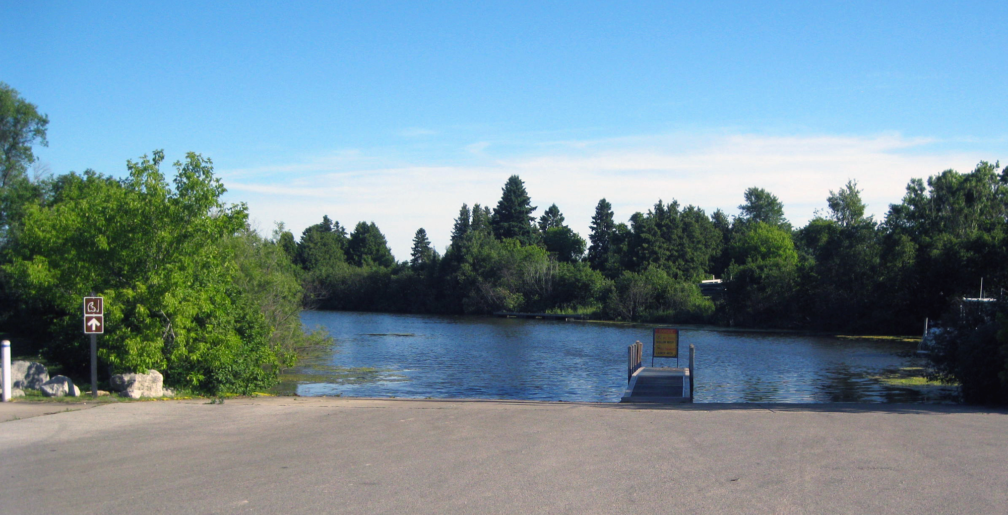 The Nahma boating access site in Delta County will be temporarily closed Oct. 3 for a ramp replacement project.