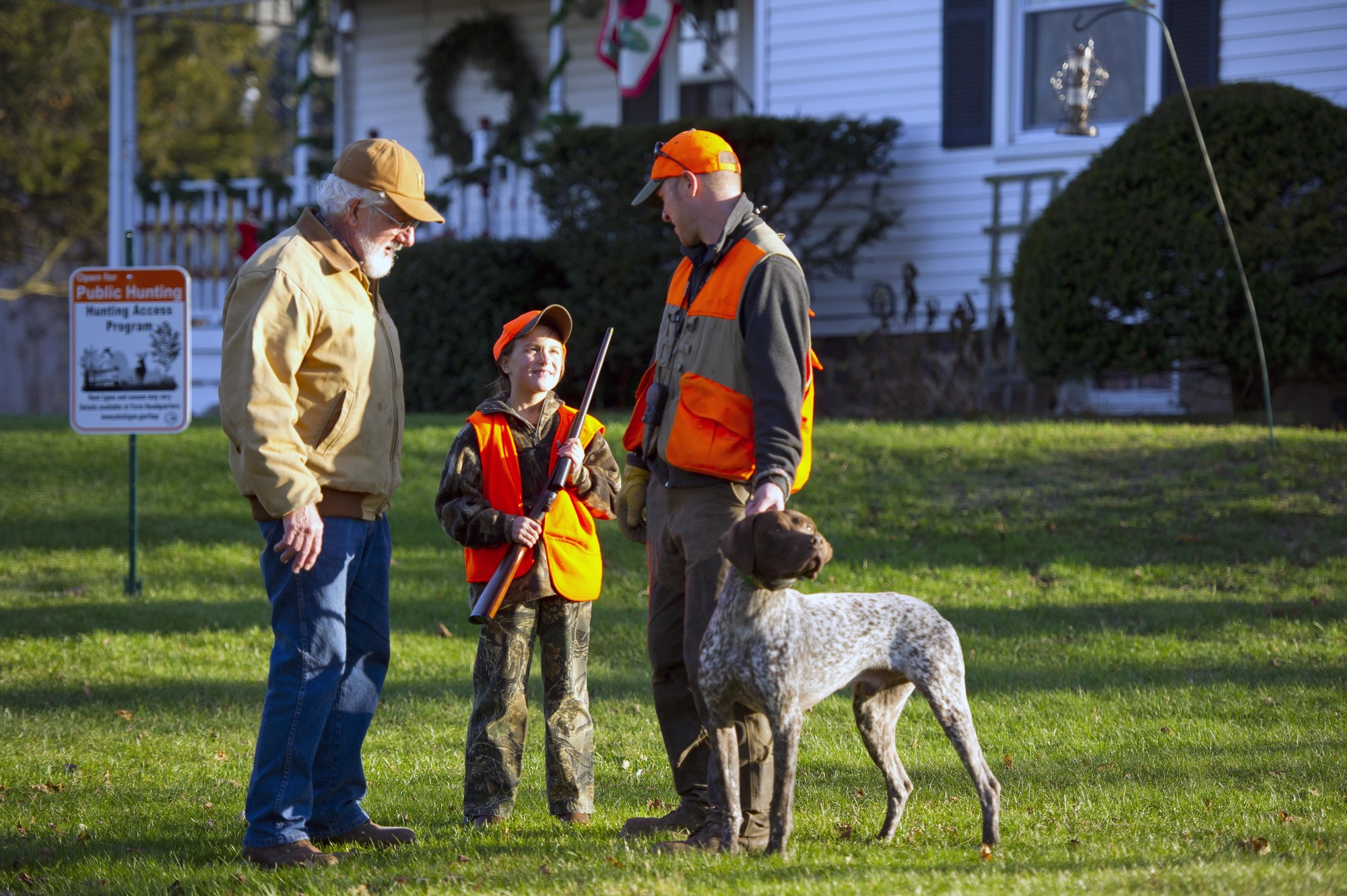 The Hunting Access Program provides incentives to landowners who open private lands to hunters.