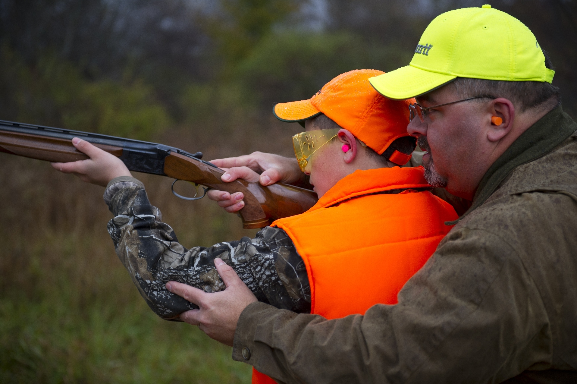 Volunteers drive Michigan's hunter education program, with about 20,000 students instructed each year.