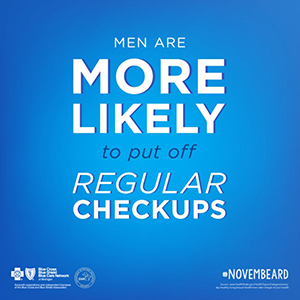 men are more likely to put off regular checkups
