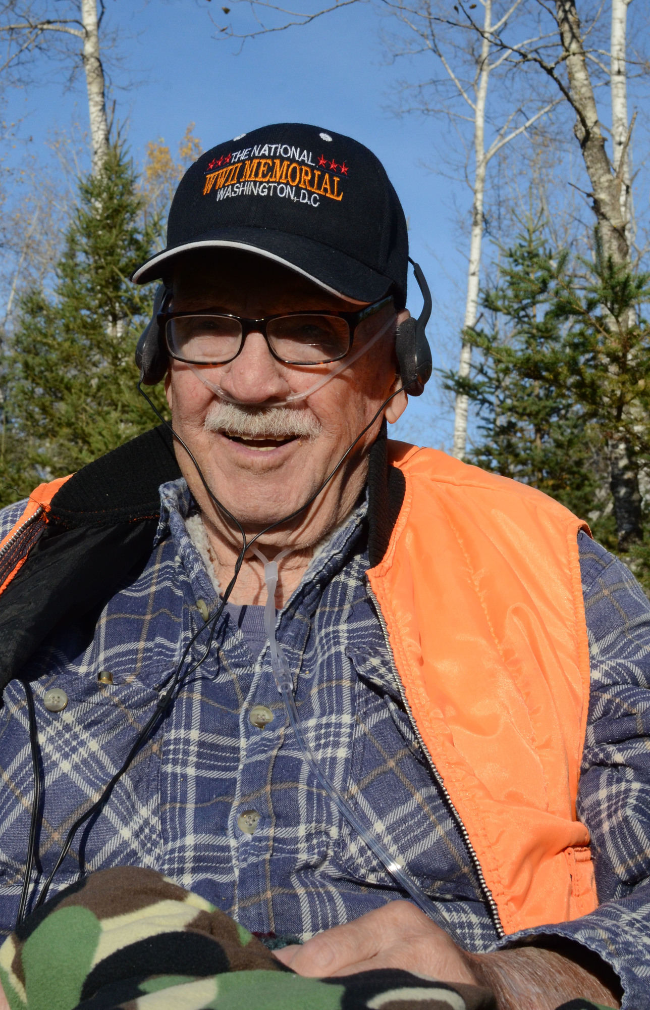 John Trottier of Iron County killed a deer this fall during the Independence Hunt. He's 100 years old.
