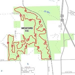 Missaukee Junction ORV trail map