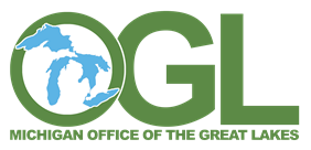 Michigan Office of the Great Lakes color logo
